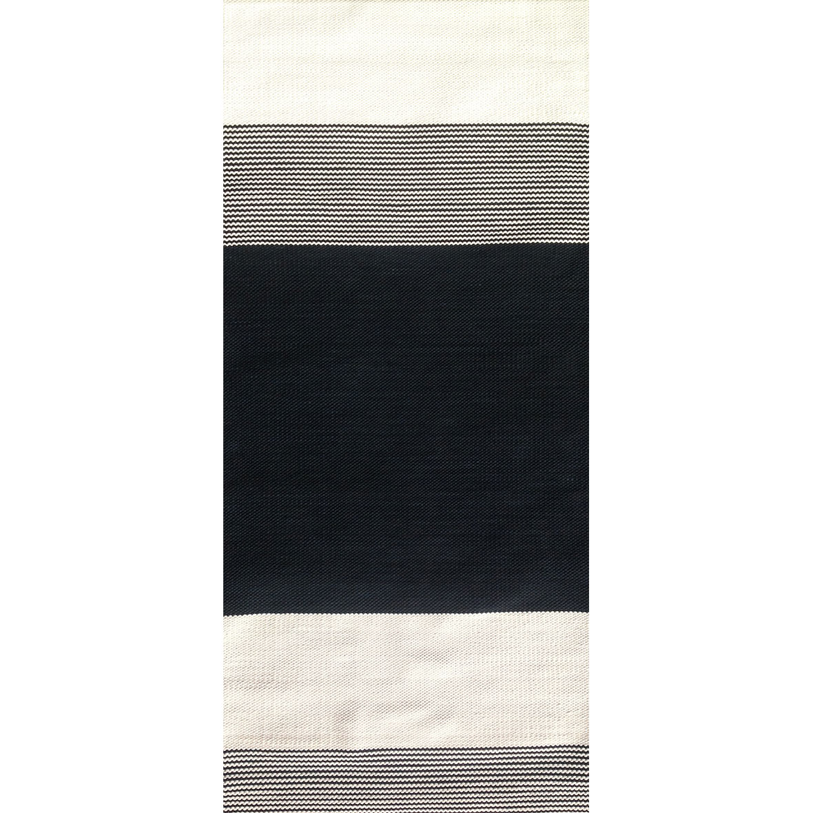 Teppich Arkki schwarz-weiss