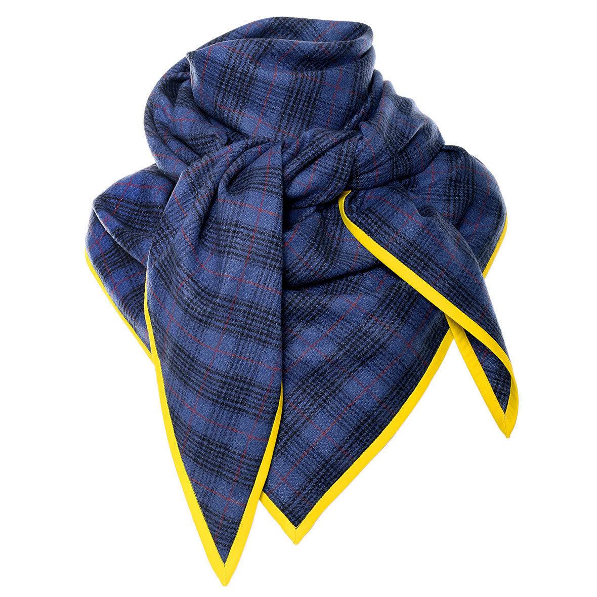 Schal Frau von Siebenthal Blau