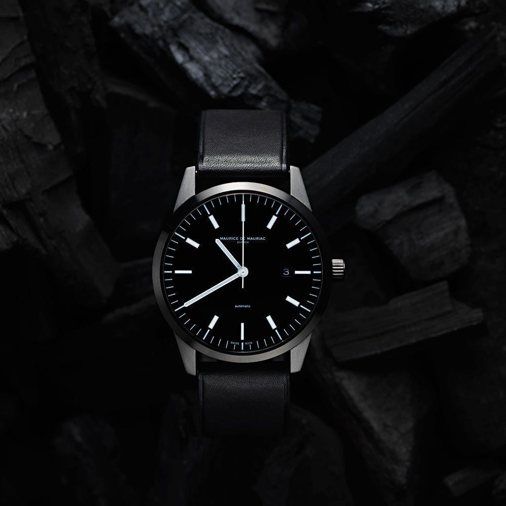 Maurice de Mauriac L1 Watch Stahl – Design by Fabian Schwaerzler