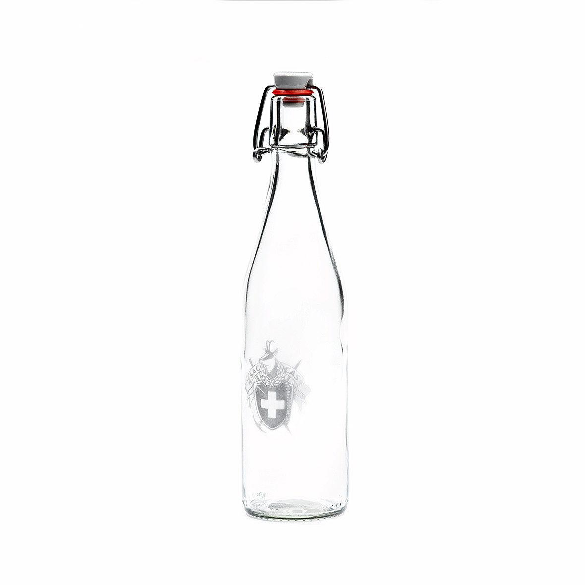 SAC-Glasbügelflasche