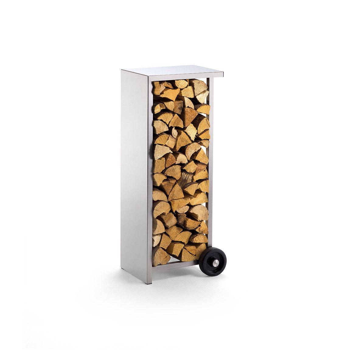 Holzstapler mobil