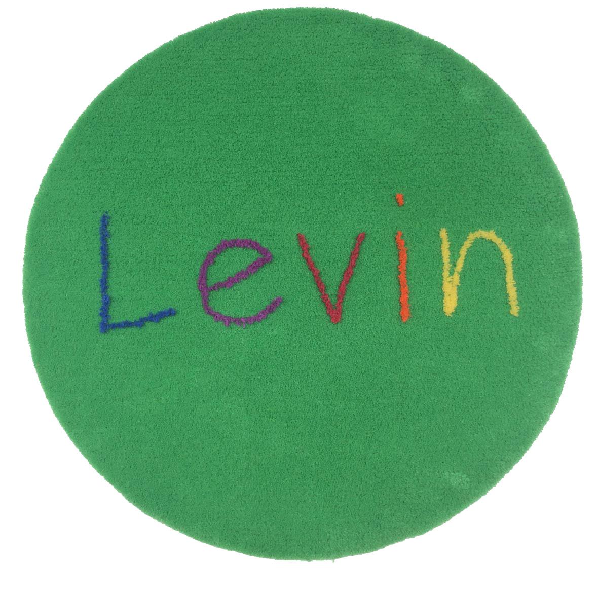 Personalisierter Kinderteppich – Handmade