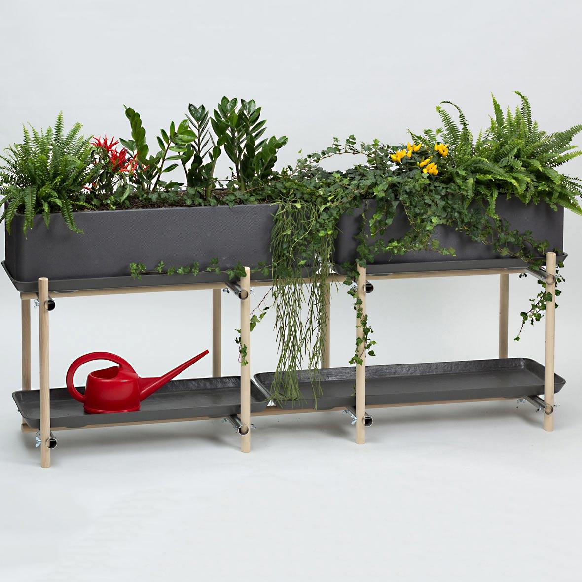 Pflanzenregal Stelz horizontal