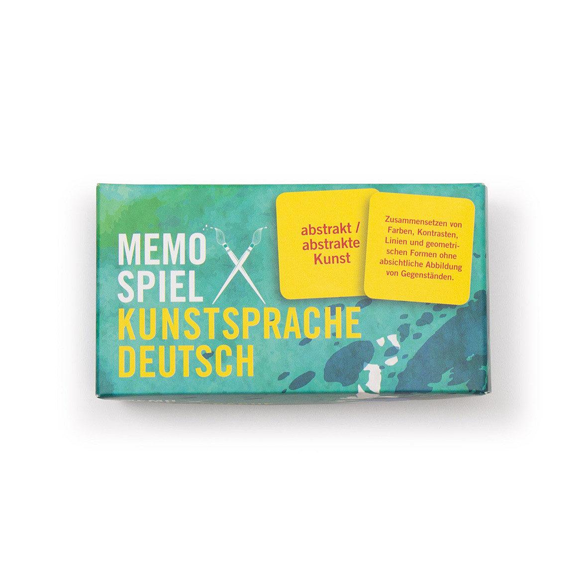 Memospiel – Kunstsprache