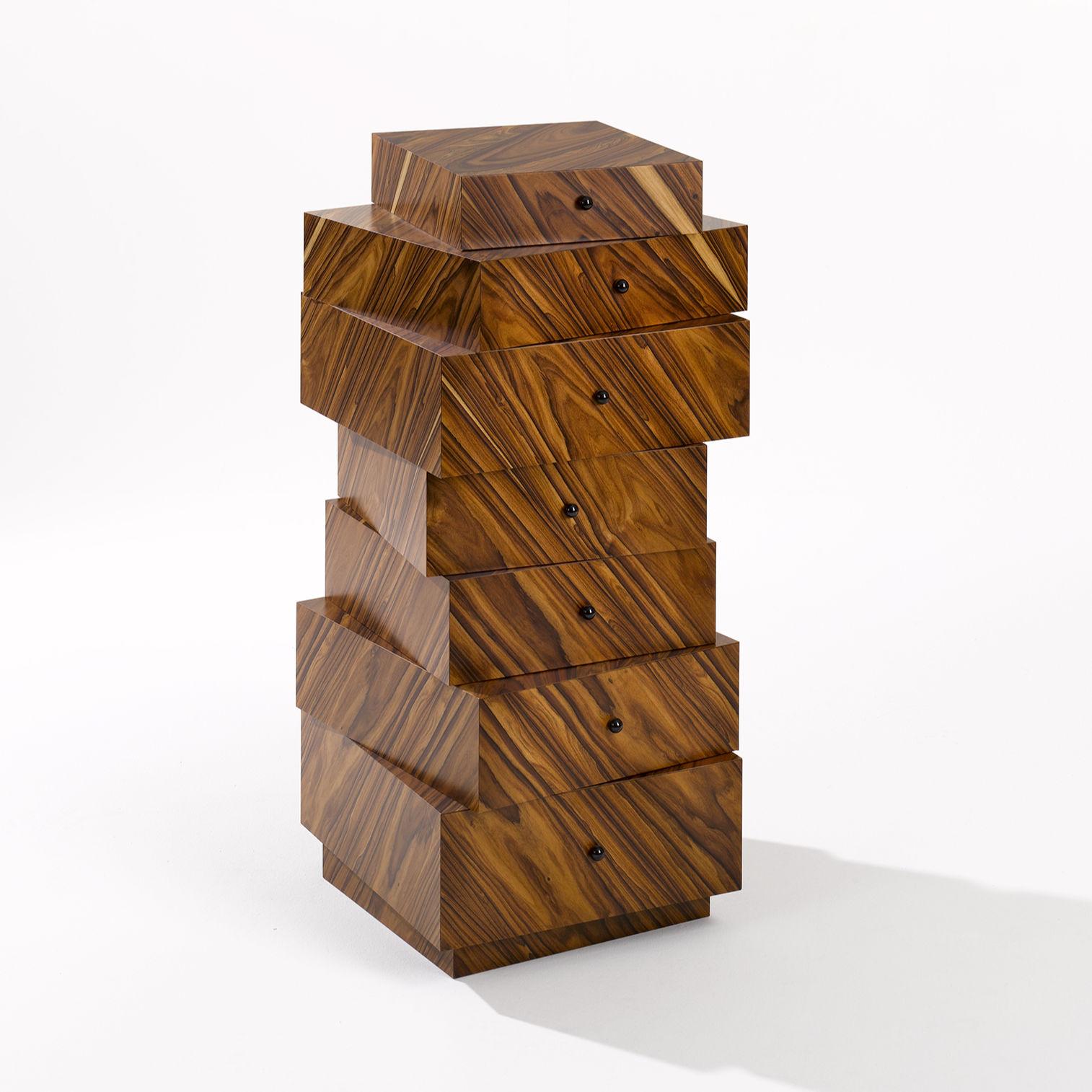 Schubladenstapel Palisander