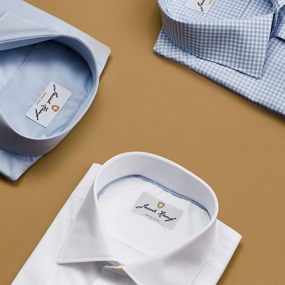 Jakob Kauf Kollektion 100 % Schweizer Premium Hemden