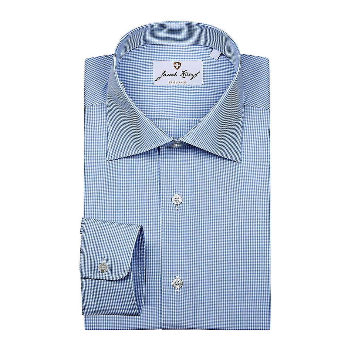 Fein kariertes Schweizer Hemd