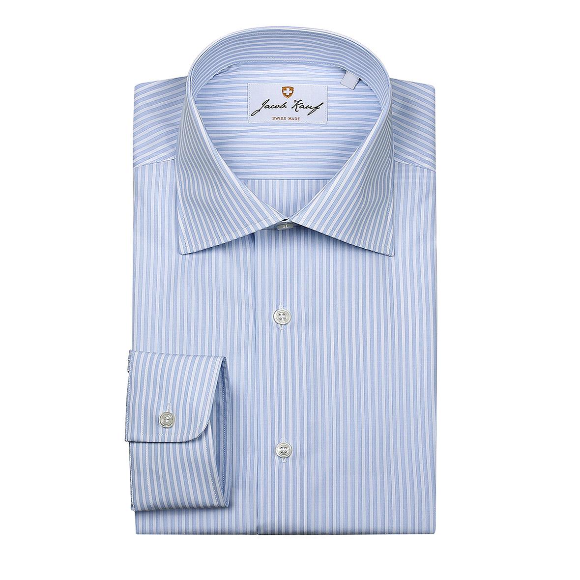Breit gestreiftes Schweizer Hemd