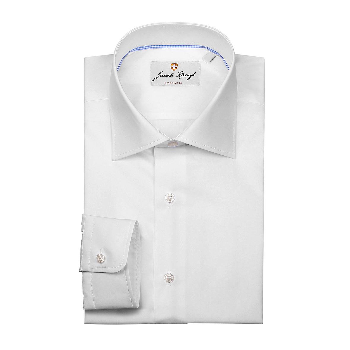 Weisses Schweizer Hemd