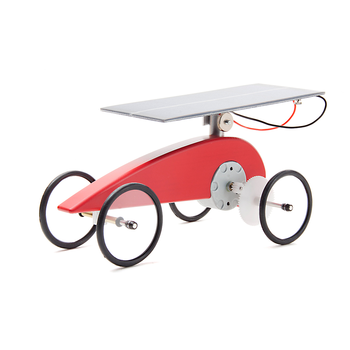 Solar-Holzauto-Bausatz Mouvelette