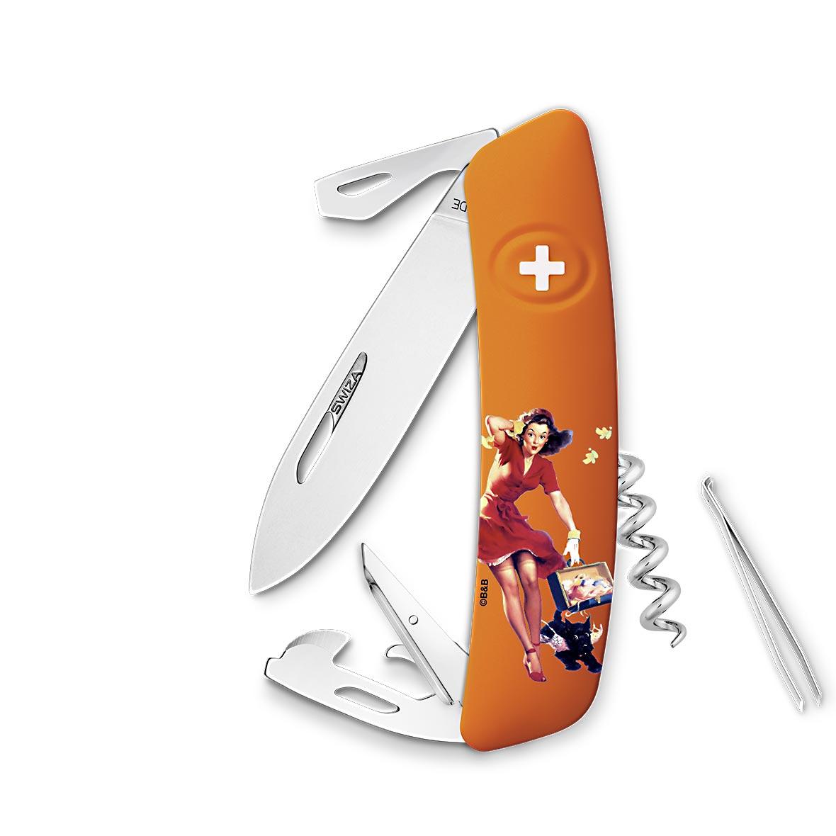 Taschenmesser Swiza D03 Limited Edition Autumn