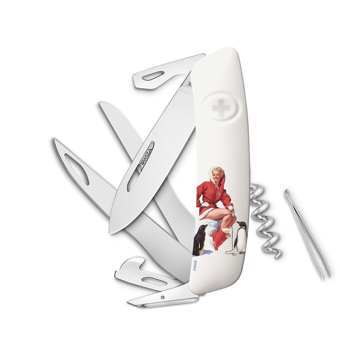 Taschenmesser Swiza D03 Limited Edition Winter