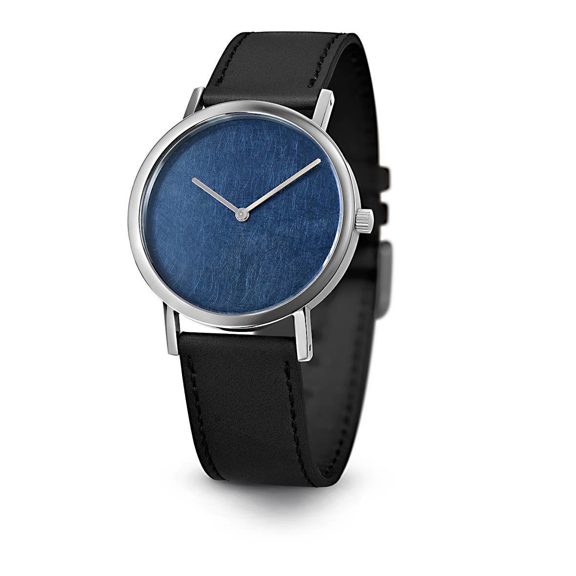 Armbanduhr Blue Leaf