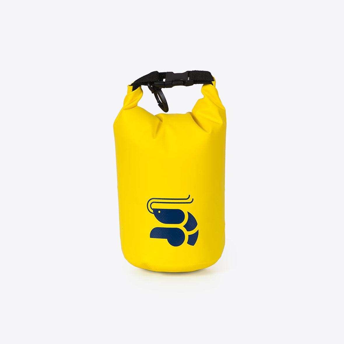 Krevetten Mini Dry Bag gelb